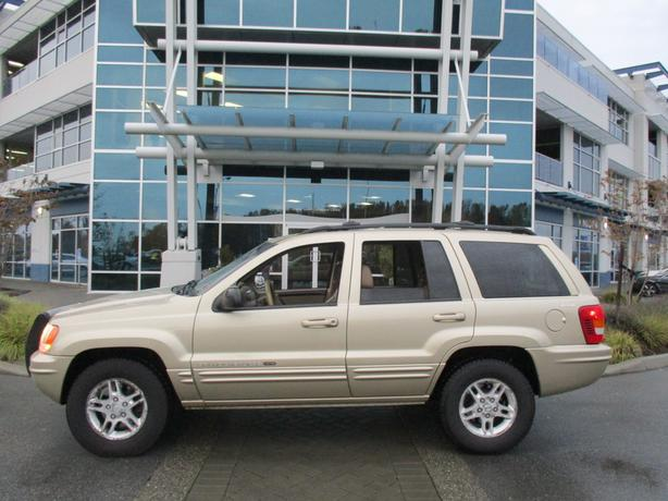 **2000 Jeep Grand Grand Cherokee Limited**