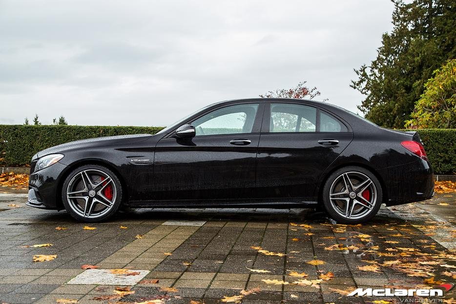 2015 Mercedes Benz C63 Amg S Sedan With 6 000 Km Lease