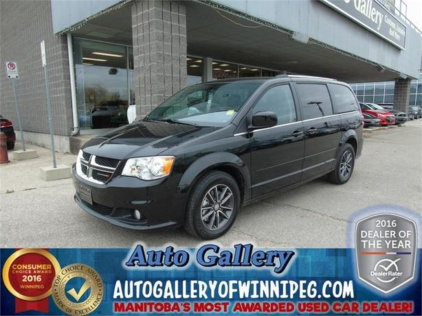 2016 Dodge Grand Caravan SXT*Lthr/DVD/Sliders