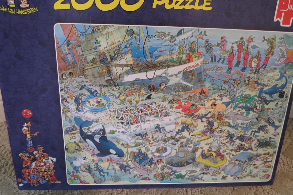 JIGSAW PUZZLES, By JAN VAN HAASTEREN, Made By JUMBO