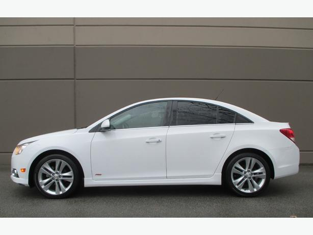 2011 CHEVROLET CRUZE LT TURBO - 1 YEAR WARRANTY! WE FINANCE!