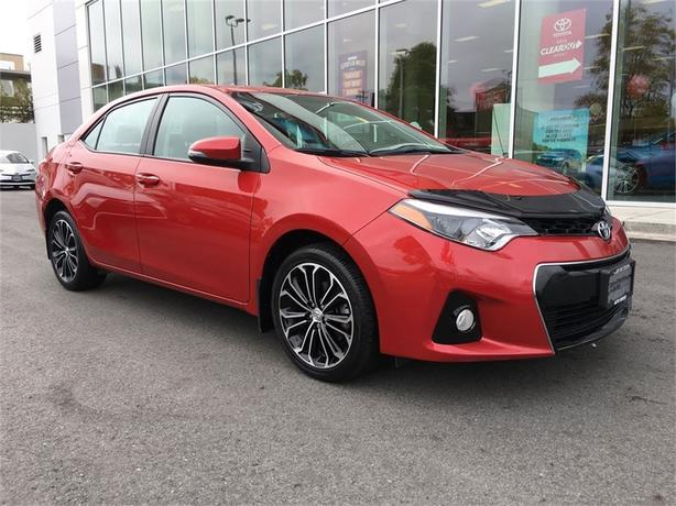 2014 Toyota Corolla S NO ACCIDENTS ONE OWNER LOCAL ISLAND
