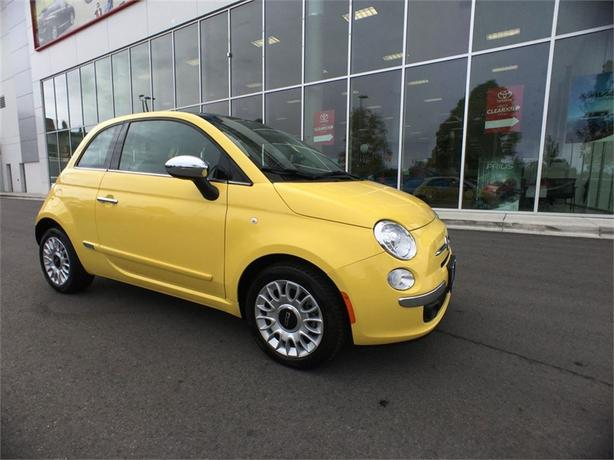 2013 FIAT 500 Lounge ONE OWNER LOCAL B.C