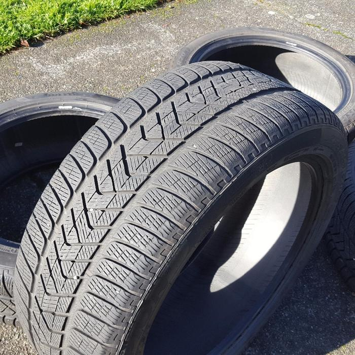 set of 4 pirelli scorpion winter tires 255 45 20 central. Black Bedroom Furniture Sets. Home Design Ideas