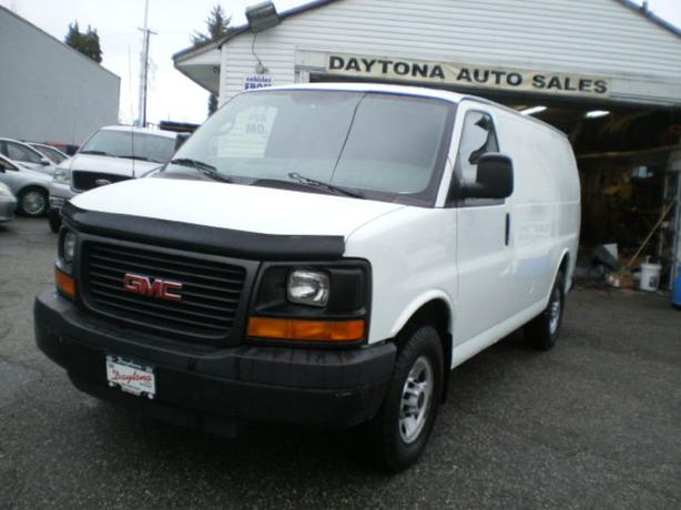 2009 GMC Savana 2500 Cargo, bulkhead, shelving, new tires,