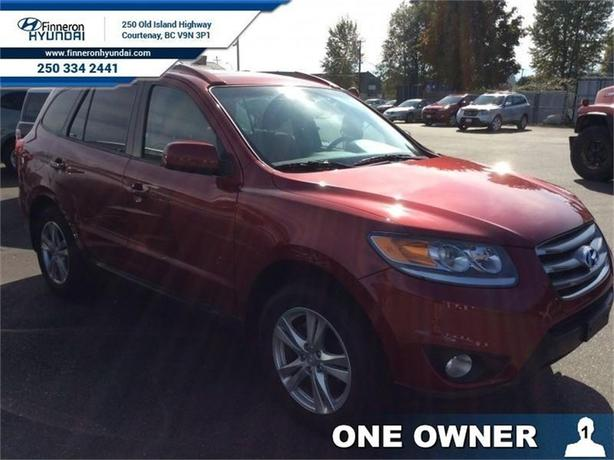 2012 Hyundai Santa Fe 2.4 Premium Leather- One Owner- Bluetooth