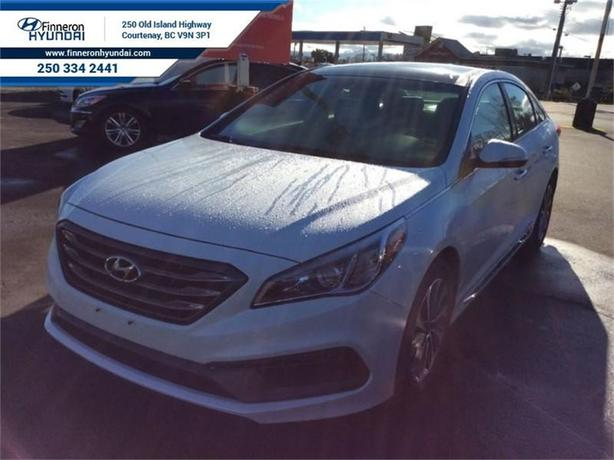 2016 Hyundai Sonata Sport Tech Navigation, Leather, Panoramic Roof