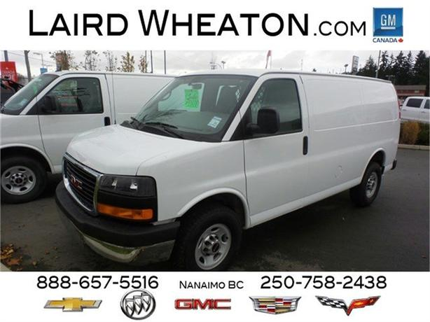 2015 GMC Savana Cargo Van w/ bulk head and power group
