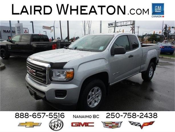 2015 GMC Canyon 4x4 w/ Back-Up Camera and 4G WiFi Hotspot