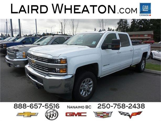 2016 Chevrolet Silverado 3500HD LT 8ft box Diesel 4x4 SRW