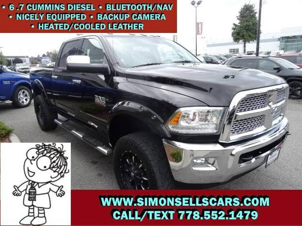 2014 DODGE RAM 3500 LARAMIE CREW - LIFTED & LOADED!