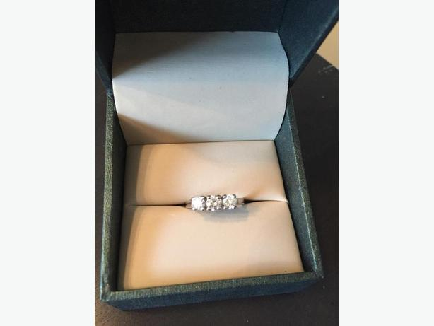Trinity/Anniversary Ring For Sale **REDUCED**