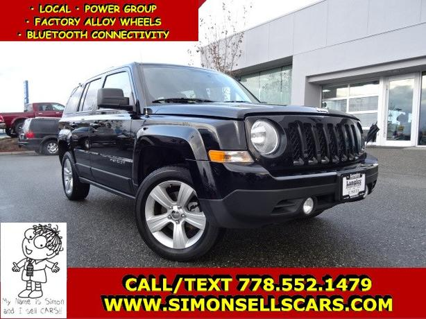 2014 JEEP PATRIOT NORTH EDITION - 4X4 - BLUETOOTH - POWER GROUP!