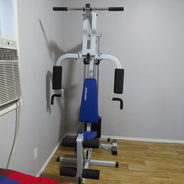 Free Weights Winnipeg: PROTEUS Weight Lifting Machine Outside Victoria, Victoria
