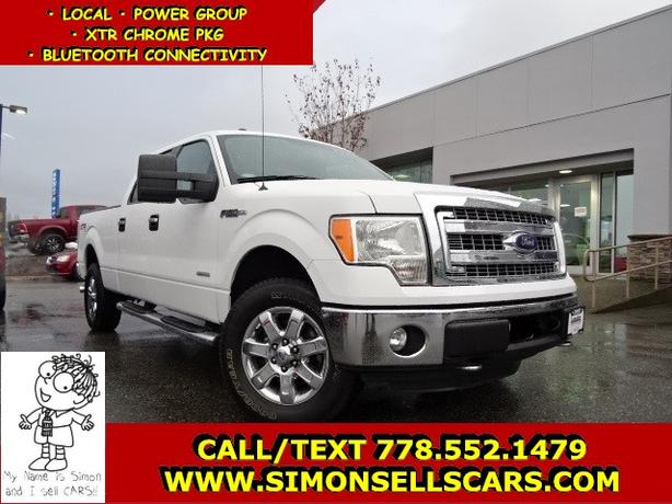2013 FORD F-150 XLT CREW - ECO-BOOST - XTR PKG - NICELY EQUIPPED!