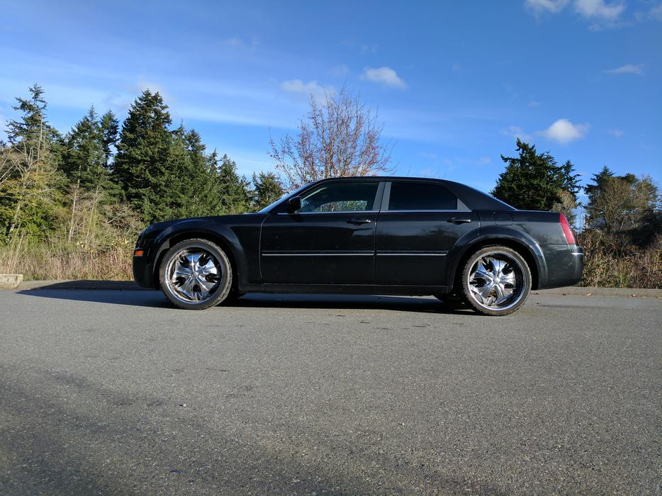 Blacked Out Chrysler 300 Victoria City Victoria