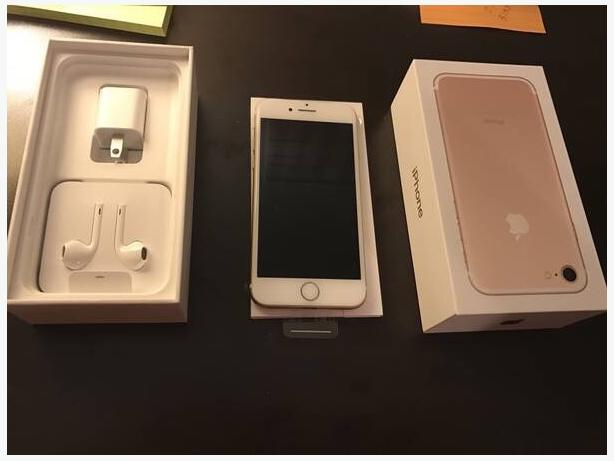 BNIB IPhone 7, 32gb white and gold. locked to bell