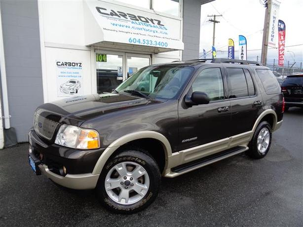 2005 ford explorer eddie bauer 4x4 7 pass leather sunroof outside victoria victoria. Black Bedroom Furniture Sets. Home Design Ideas