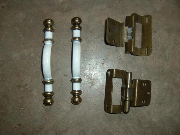 Hinges & door handles