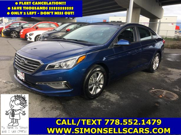 2017 HYUNDAI SONATA GL - FLEET CANCELATION - NICELY EQUIPPED!