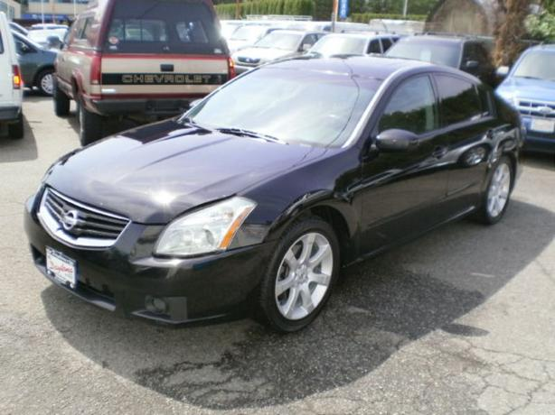 2008 Nissan Maxima SE, leather, sunroof, new tires,