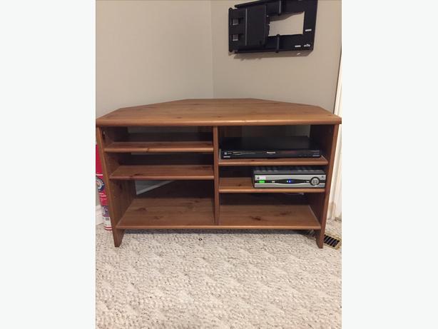 ikea corner tv stand south regina regina. Black Bedroom Furniture Sets. Home Design Ideas