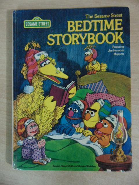 Sesame Street Bedtime Storybook Vintage 1978 Hardcovered