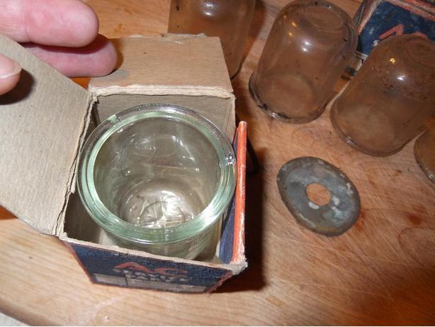 Lot of 10 Antique Glass sediment bowls