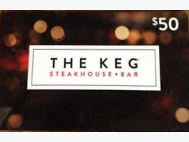 $50 Keg Gift Card