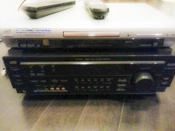 JVC RX-8010VBK High Current 5.1 Channel Receiver