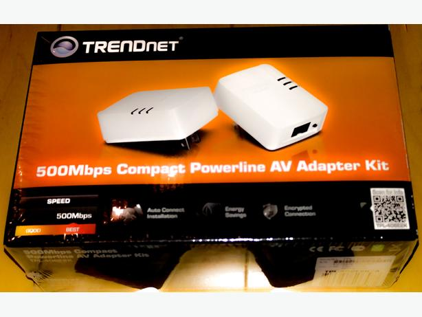Trendnet Powerline Ethernet Adaptor Kit 500Mbps