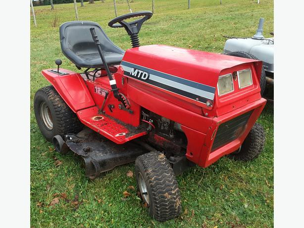 "MTD 12hp Tractor W/38"" mower deck"