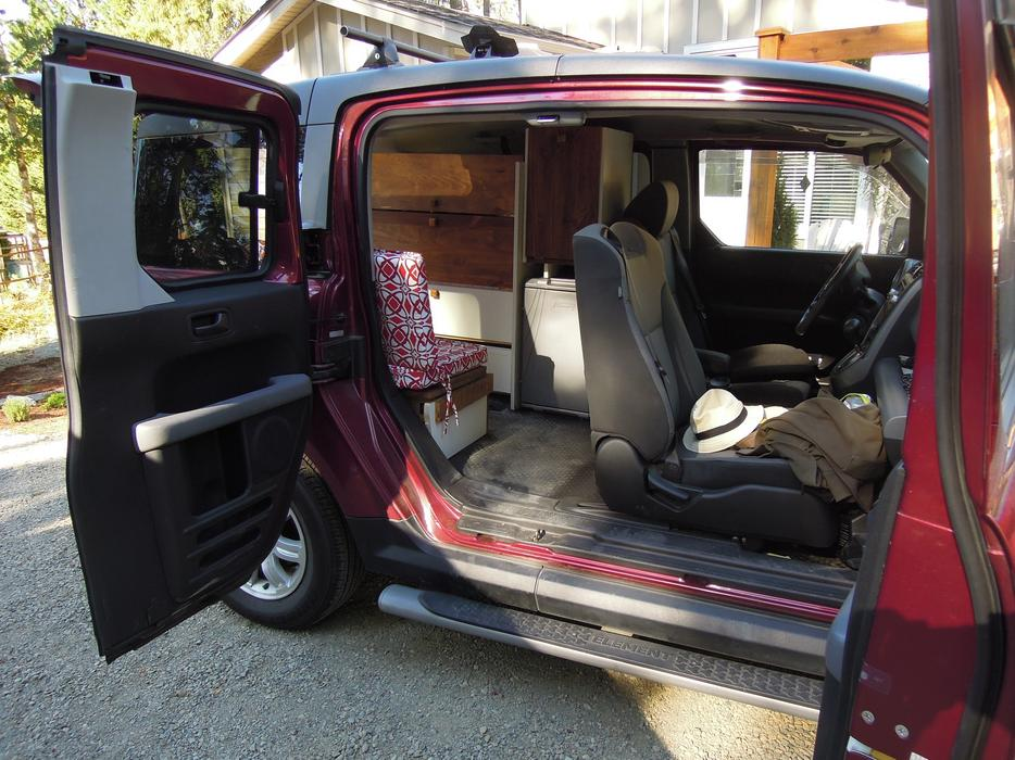 Ultimate Honda Element Micro Van Camping Conversion