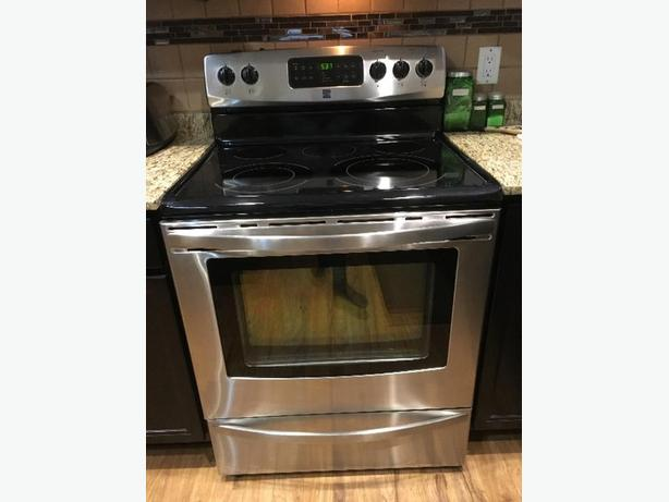 Kenmore stainless steel oven