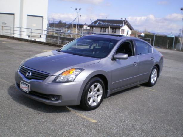 2007 Nissan Altima SL, leather, sunroof,