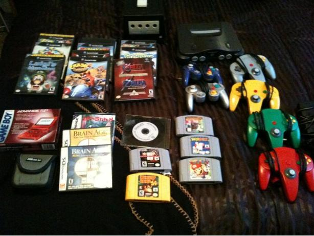 nintendo 64, game cube and more
