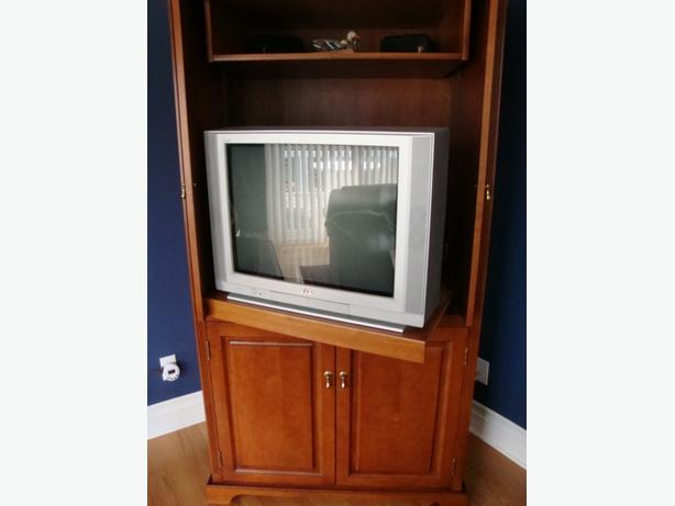 Quality Crafted Custom Entertainment Unit Armoire Style