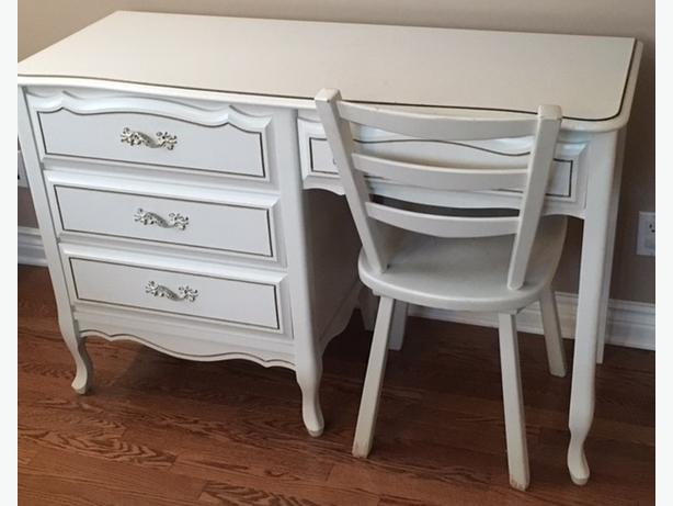 White French Provincial Bedroom Furniture   By Baronet