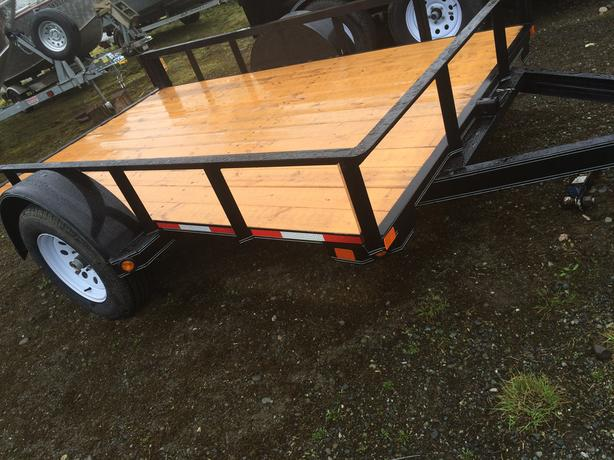 2016 DOUBLE A 6X10 UTILITY TRAILER WITH TILT 2990 LB GVW