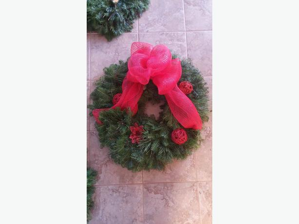 Fresh Bough Wreaths and Swags