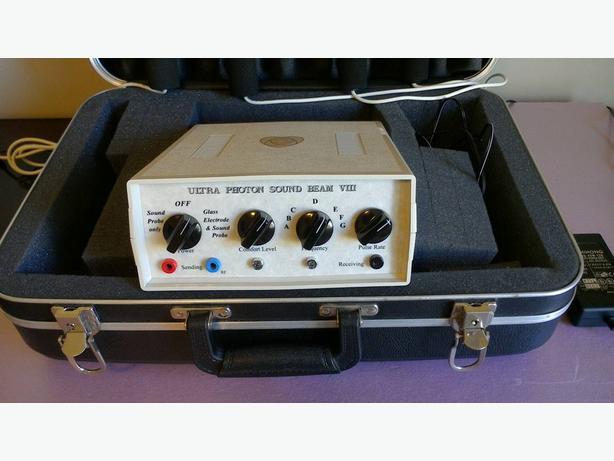 photon sound beam machine