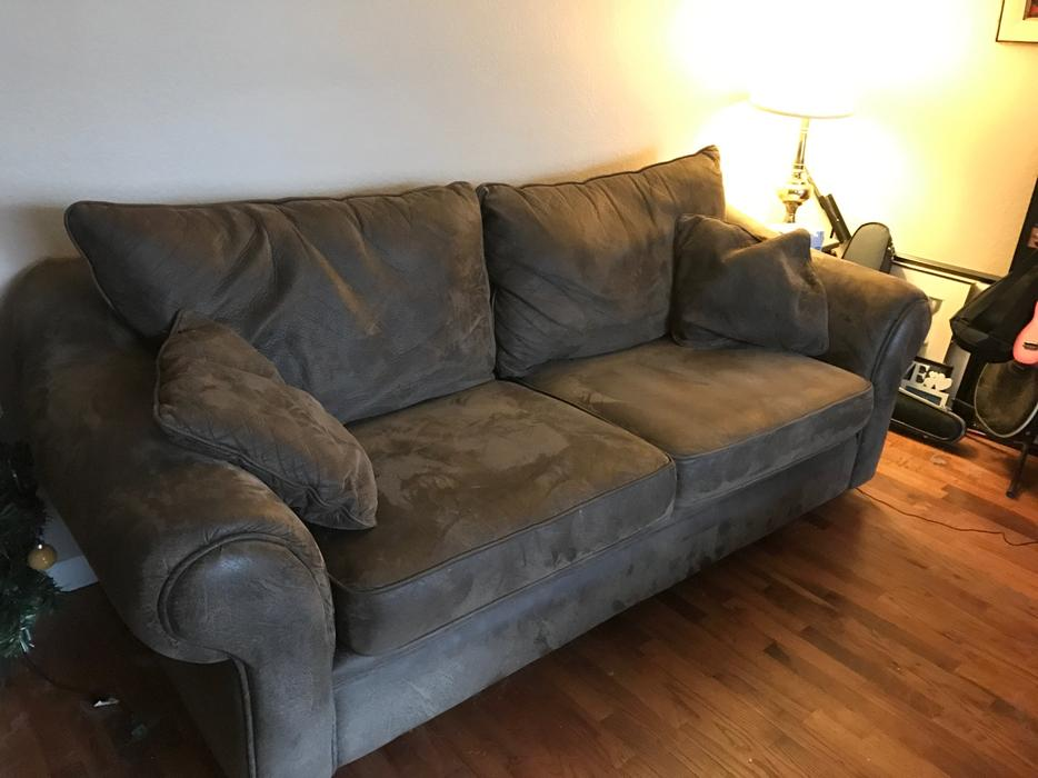 Reduced for immediate sale amazing comfy sofa chaise for Sectional sofas for sale red deer
