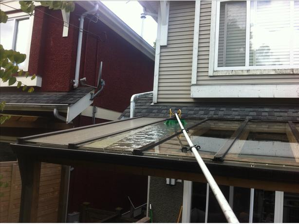 Chemical Free Window Cleaning & Siding/Gutter  Scrubbing