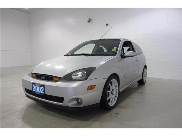 2002 FORD FOCUS SVT HATCHBACK LEATHER/MANUAL!