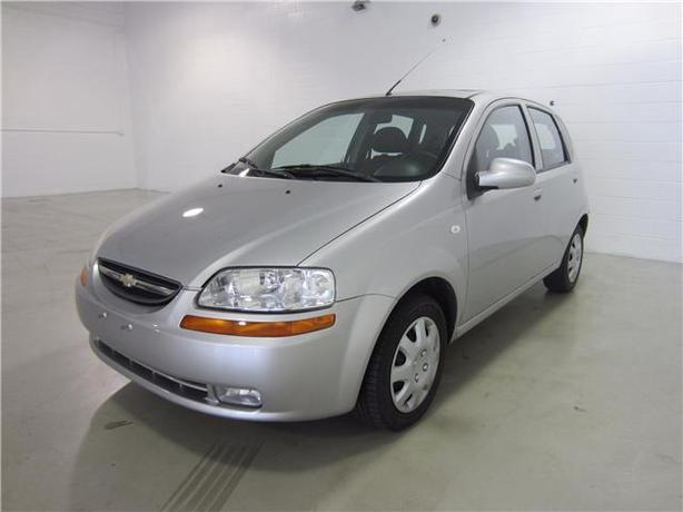 2006 CHEVROLET AVEO LT HATCHBACK SUNROOF/AUTOMATIC