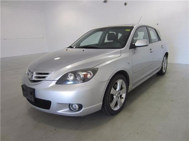 2006 MAZDA 3 GS 4DOOR HATCHBACK with SUNROOF