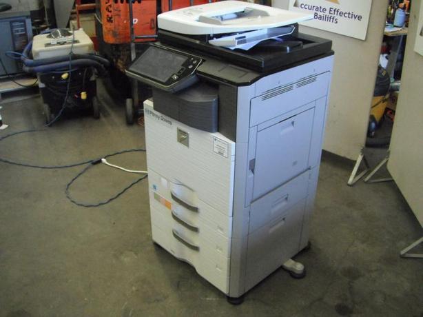 2013 Sharp MX-3110N Colour Photocopier
