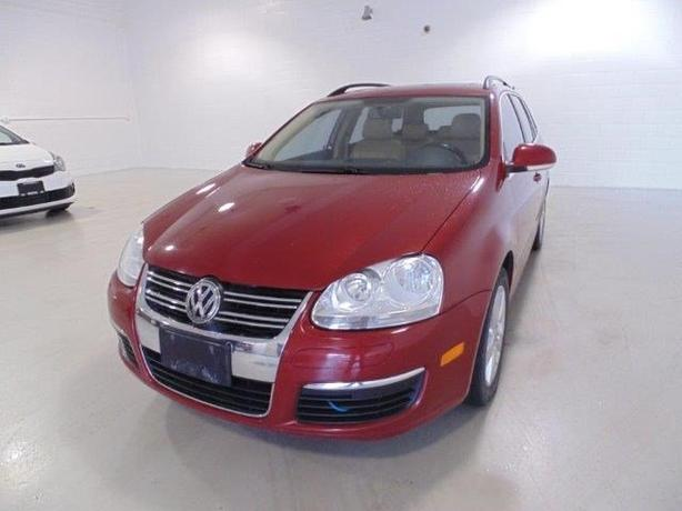 2009 VOLKSWAGEN JETTA WAGON -LEATHER/SUNROOF
