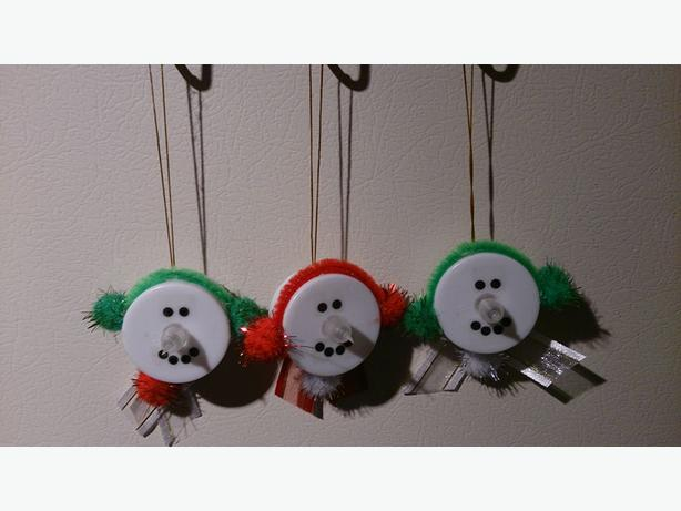 Tea Light Snowmen