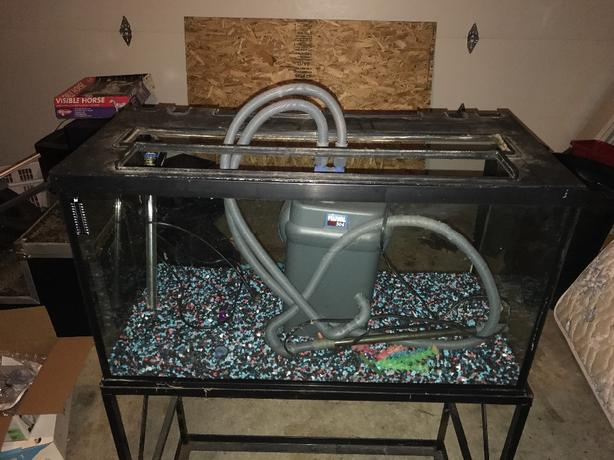 50g fish tank with stand and filter north nanaimo nanaimo for 50 gallon fish tank filter